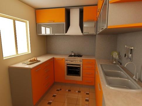 Маленькая кухня — варианты решения проблемы