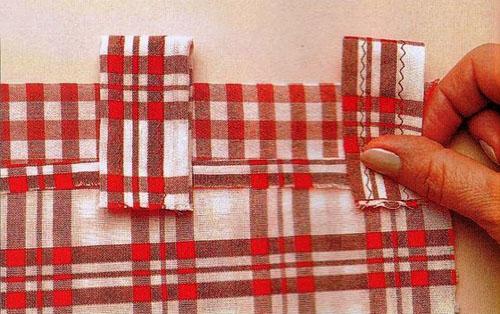 Веселенькие кухонные занавески на петлях с воланами женские хобби