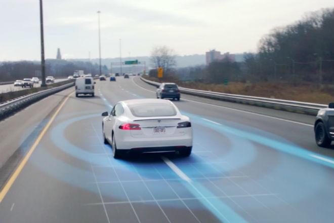 Как работает автопилот у Tesla