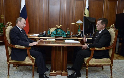 Губернатор Астраханской области отчитался перед Путиным о ситуации в регионе