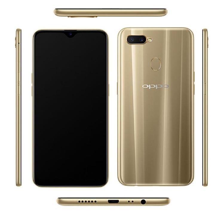 Смартфон среднего уровня Oppo A7 показался на рендерах
