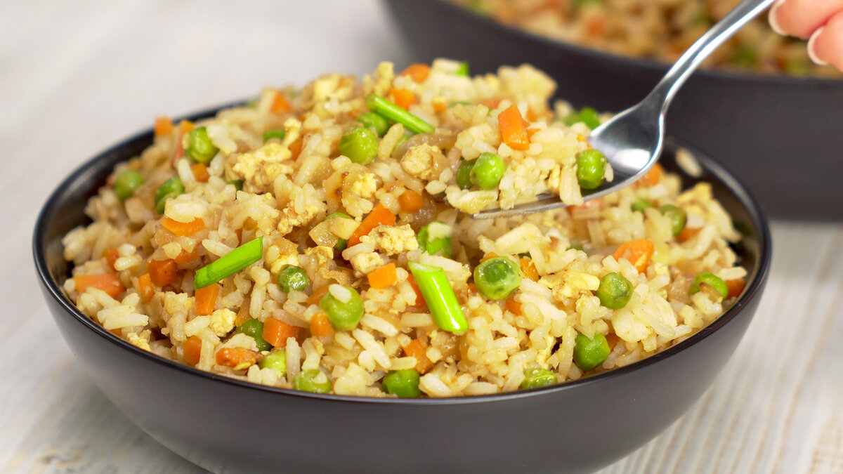 Рис с овощами по-азиатски от Всегда Вкусно!