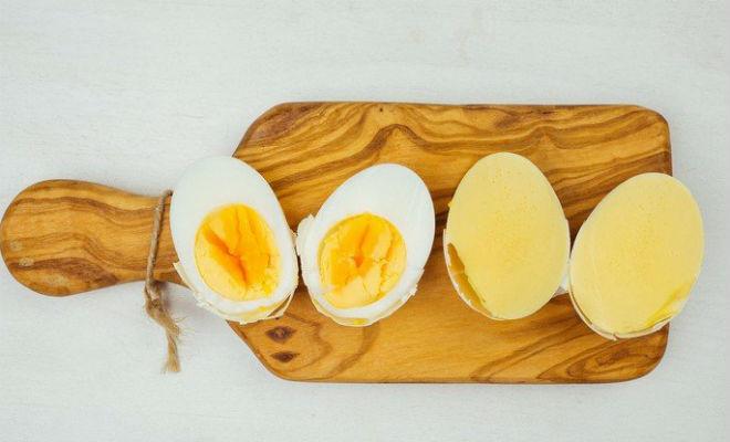 Варим яйцо желтком наружу Идеи
