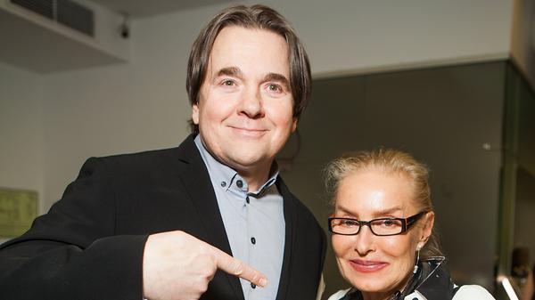 Ольгу Свиблову поздравил с днем рождения Константин Эрнст