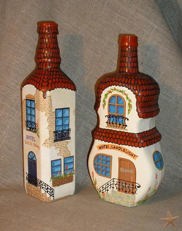 Бутылки домики своими руками