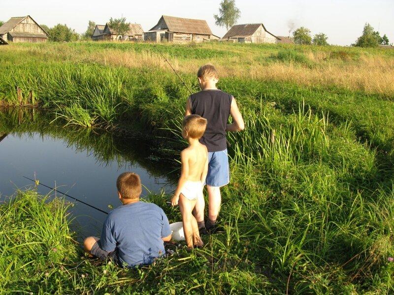 выходят картинки летние каникулы в деревне для