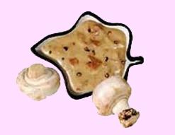 Соус из шампиньонов с петрушкой,грибной соус
