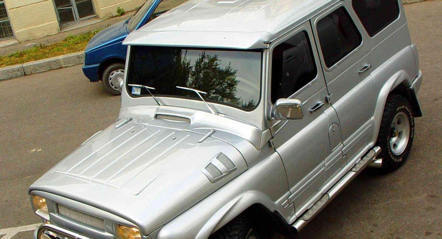 УАЗ Hunter после крутого тюнинга получился не хуже Gelandewagen Автомобили