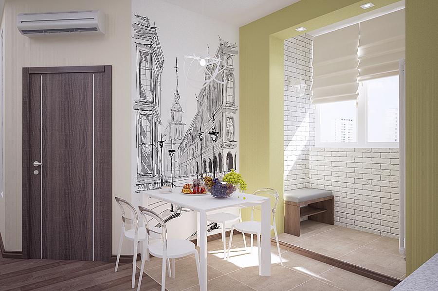 Мебель для прихожей дизайн в квартире реальные 344