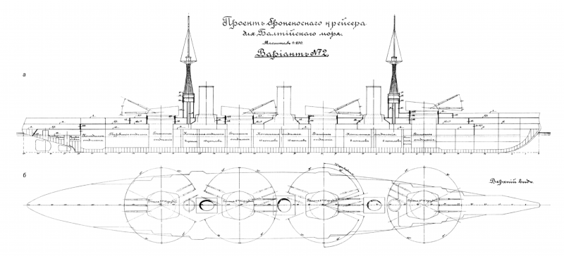 """Линейные крейсеры типа """"Измаил"""". Ч.2"""