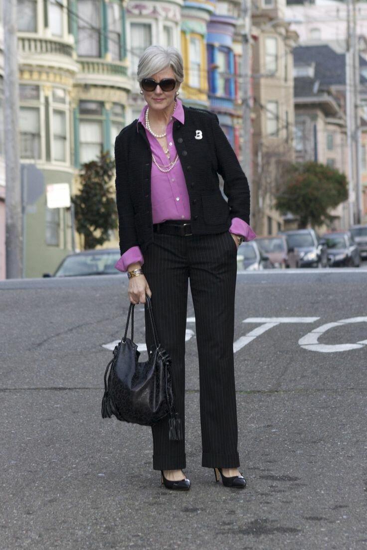 Эти 7 вещей из гардероба женщины 50+ никогда не выдут из моды