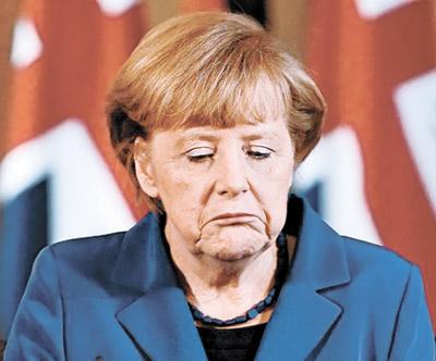 Англичане начали издеваться над Меркель
