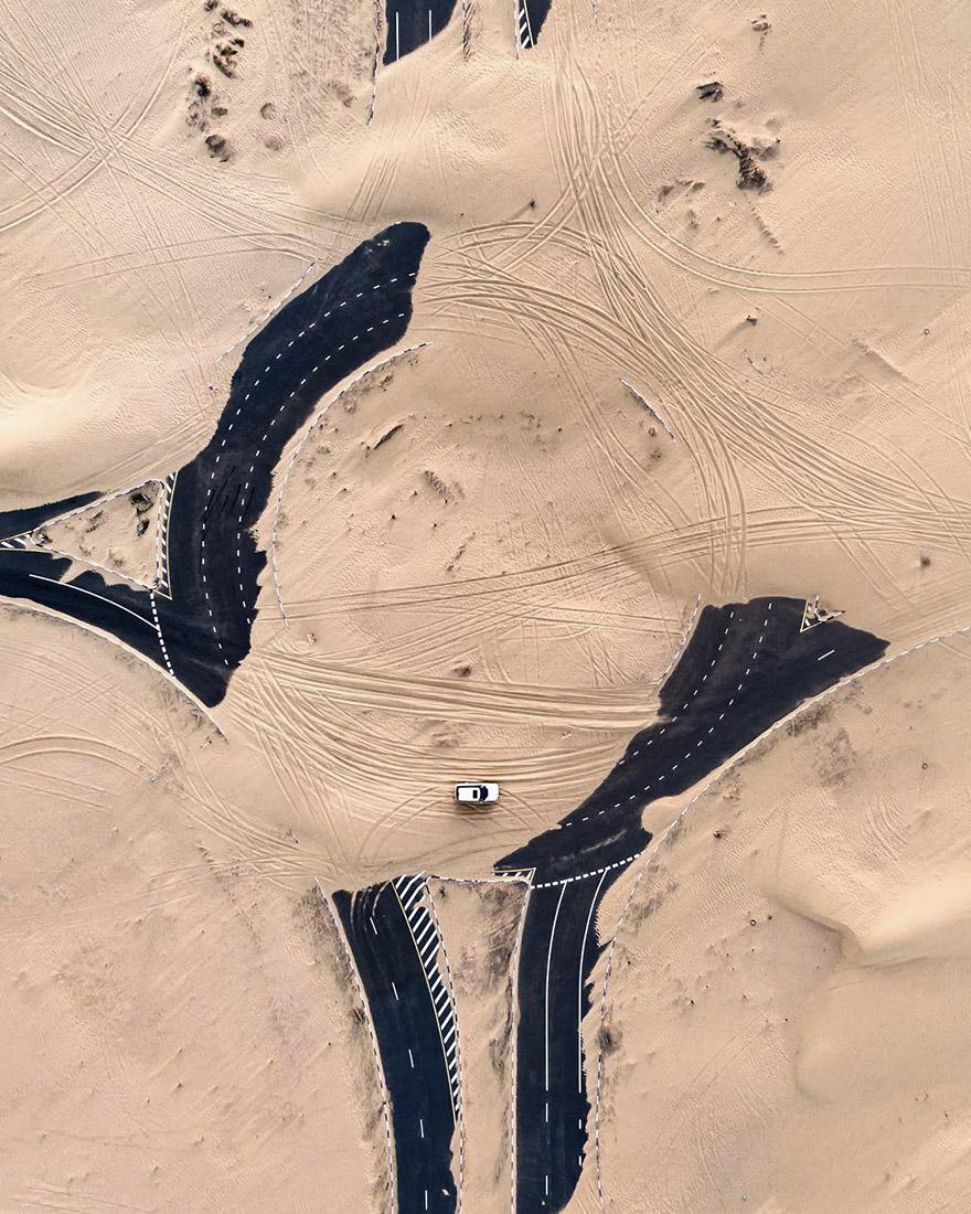 Величие песков Дубая на фотографиях