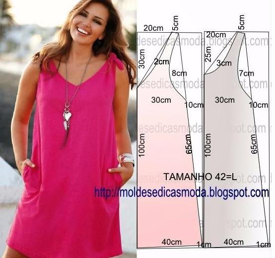 Летние платья и сарафаны с простыми выкройками… 50 платьев — 50 выкроек!