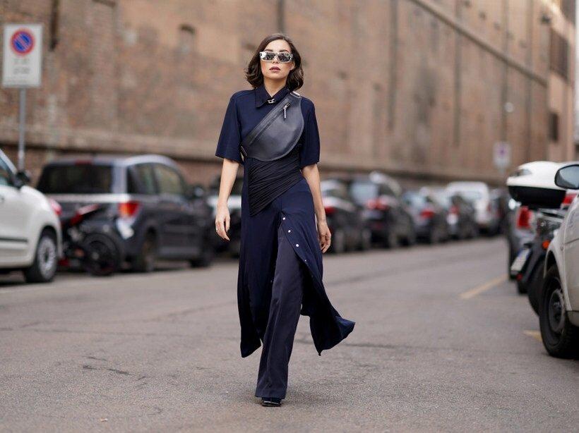Необычные сочетания в одежде для женщин