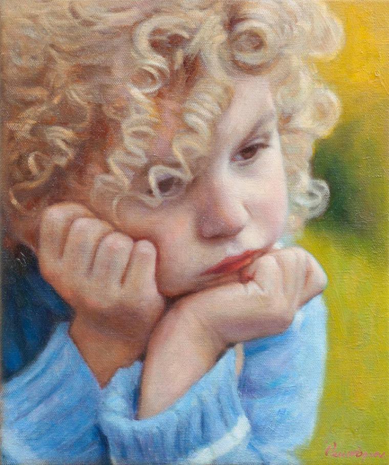 Odysseas Oikonomou — греческий художник, рисующий детей