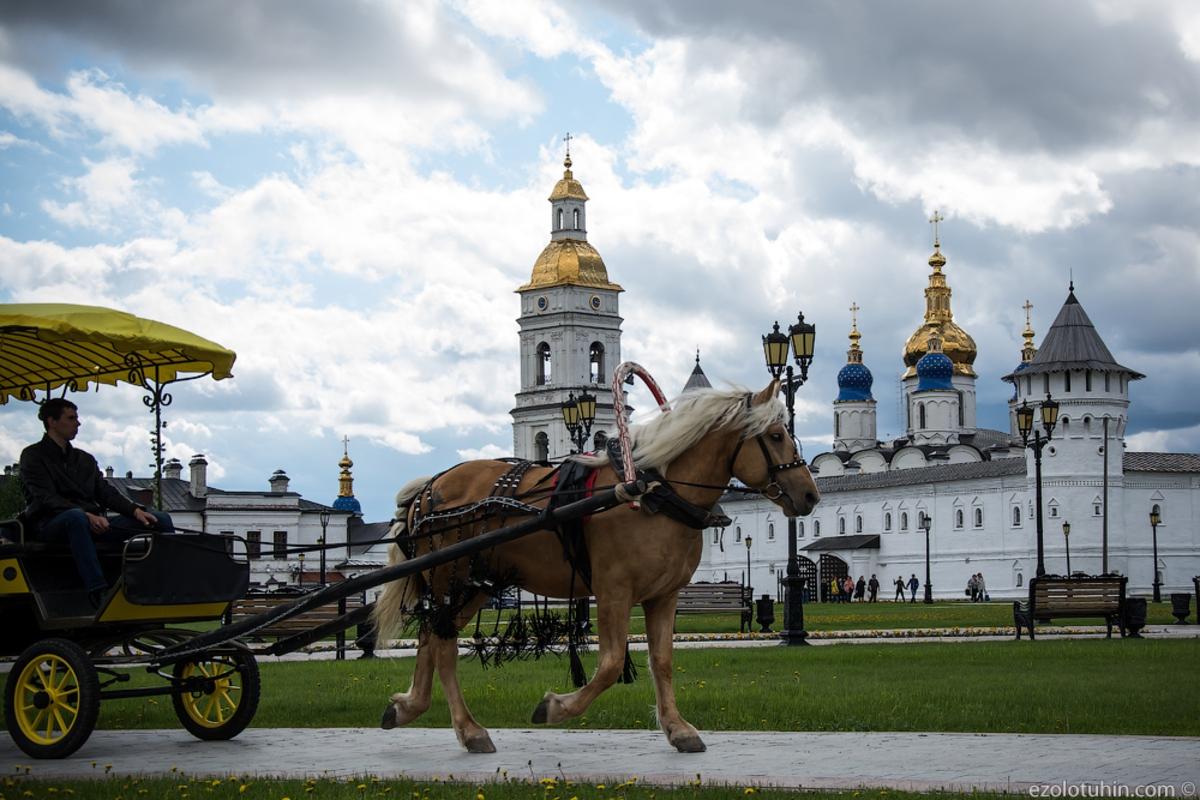 В Сибири есть свой Кремль. Настоящий.