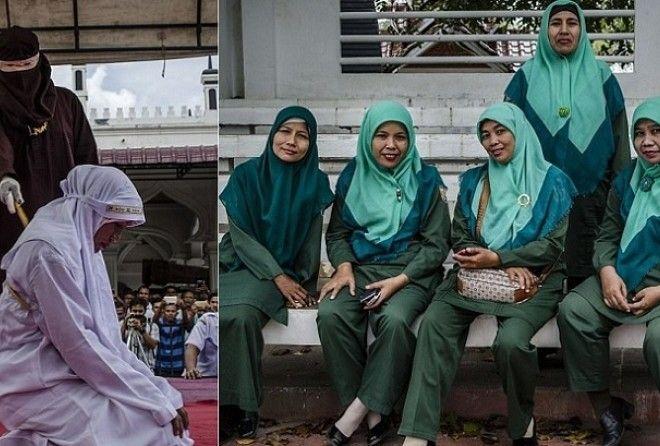 За соблюдением законов шариата бдительно следят женщины-полицейские