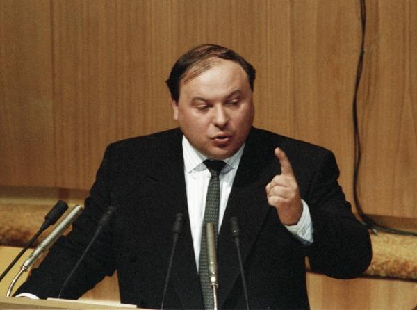 Егор Гайдар, 1992 год