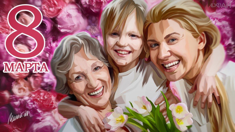 Поздравление бабушек и мам с днем матери