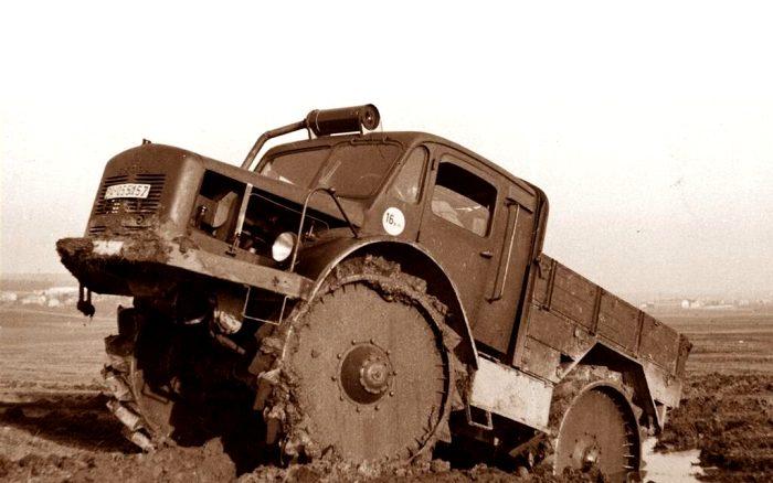 600 литров на 100 км: почему у немецкого супертягача был огромный расход топлива авто,авто и мото,автомобиль