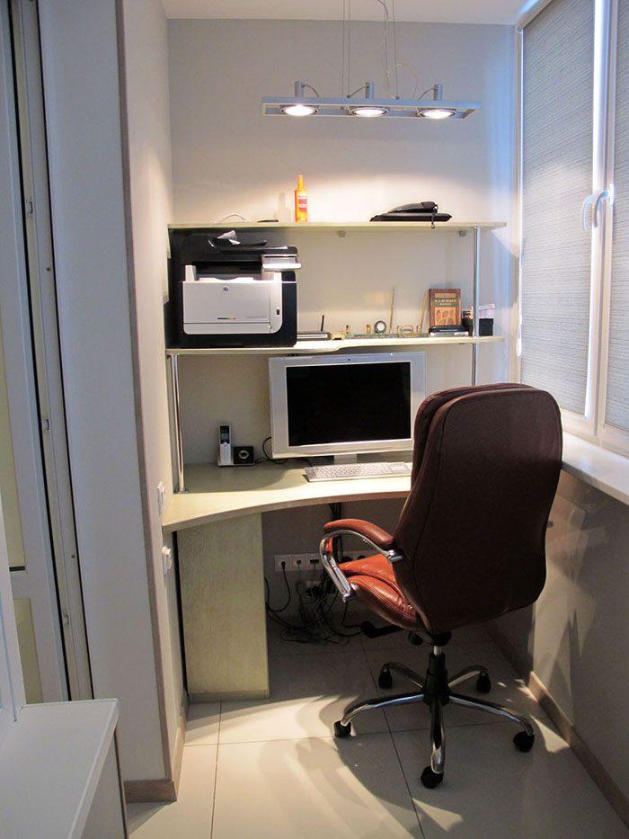 Кабинет на балконе, 12 фото красивых балконов офисов, советы.
