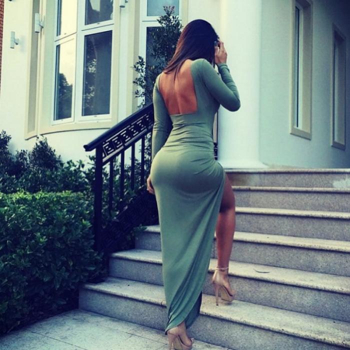 Большая попа в платье фото — photo 6
