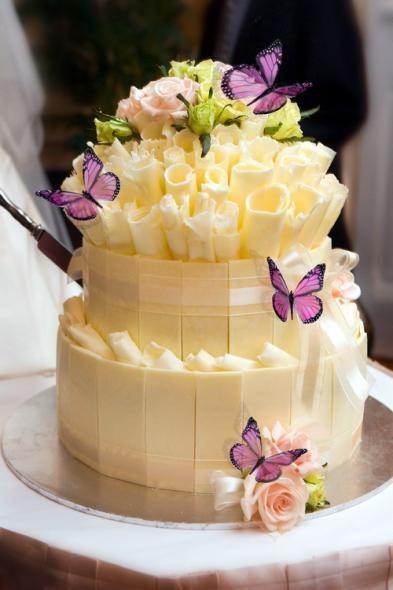 Роскошные цветочные торты. Идеи для вдохновения