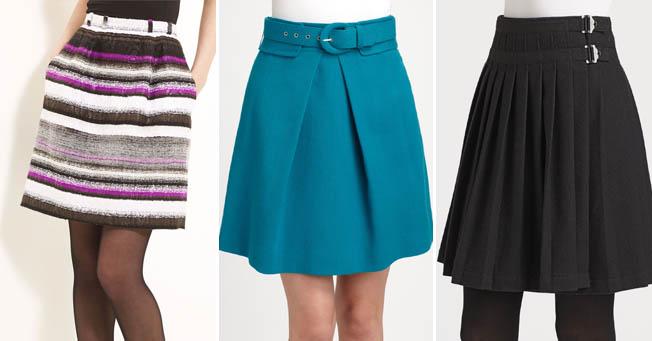 Как выбрать юбку по фигуре — немного советов с картинками