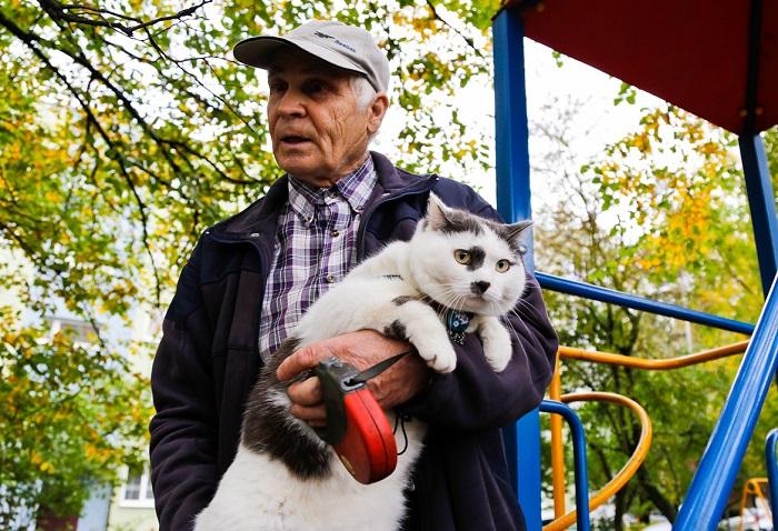 За этого кота предлагали 450 тысяч рублей, но пенсионер наотрез отказался его продавать