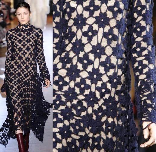 Тренд осенне-зимнего сезона — вязаное  платье