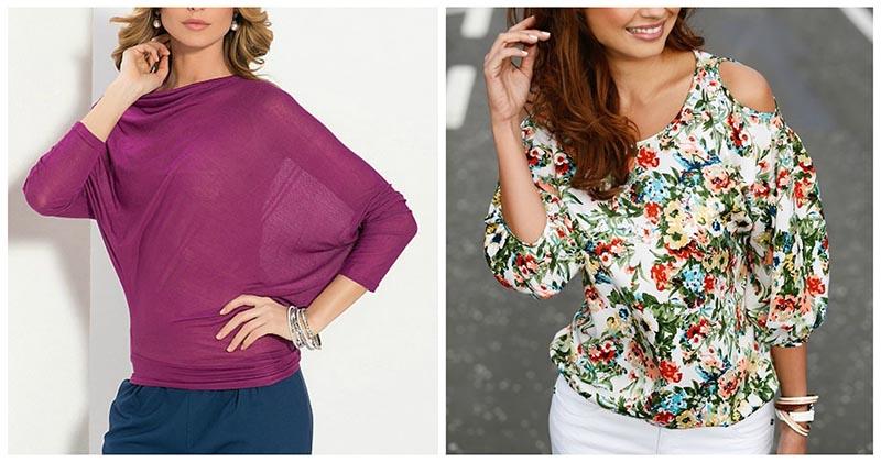 В копилку рукодельницам: лёгкие выкройки чудесных летних блузок