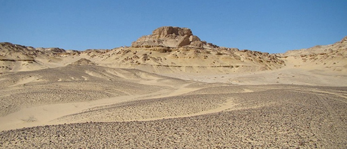 Под песками Египта обнаружены странные линии