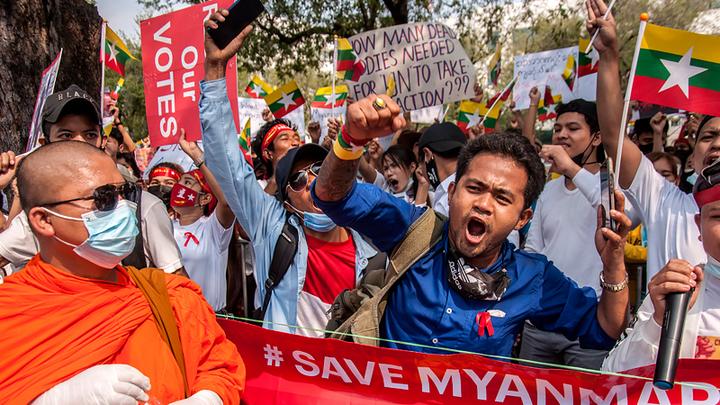 Неожиданный удар по Китаю. В Мьянме политический кризис