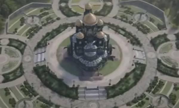МО Казахстана пожертвовало средства на строительство главного храма ВС РФ