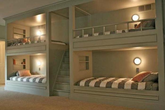 Топ 19 спален для экономящих пространств15