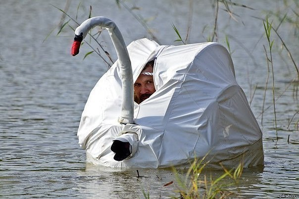 Главное в охоте -  это маски…
