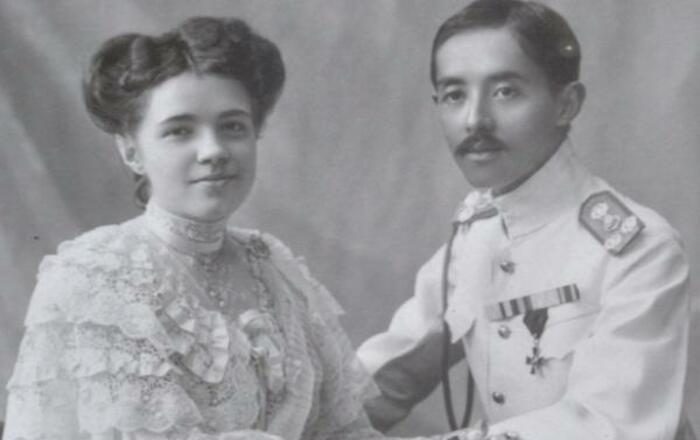 Екатерина Десницкая и принц Чакрабон