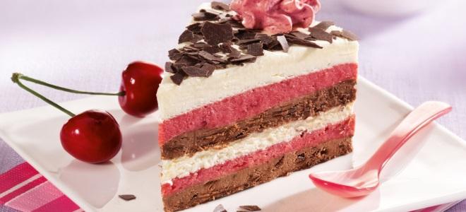 муссовый торт пьяная вишня