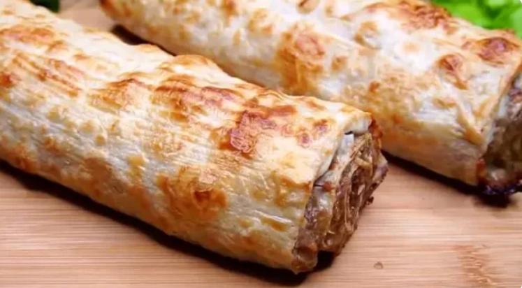 Моя подруга армянка научила меня готовить вкусную, быструю и сытную закуску в лаваше