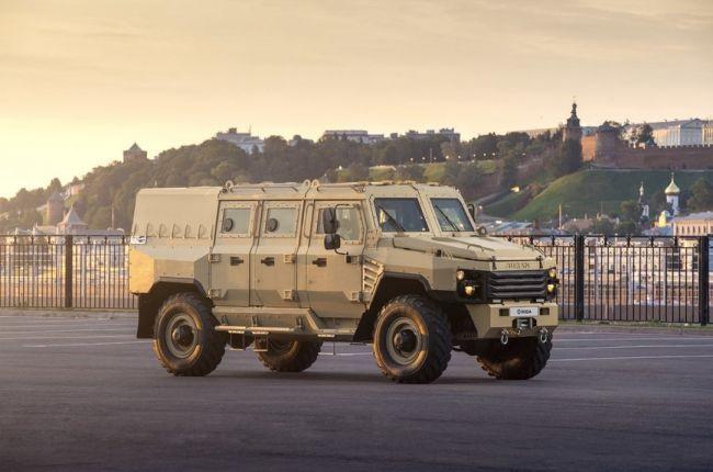 Сеть восхитил ГАЗ «Садко», превращенный в супербронетранспортер «Буран»