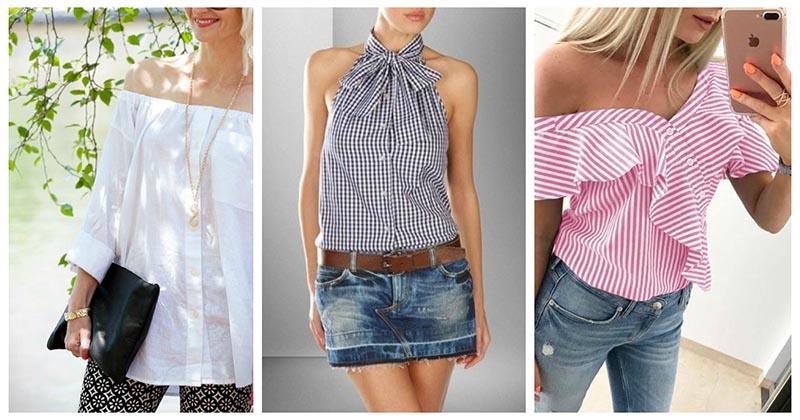 Креативные идеи для тех, кто любит переделку одежды