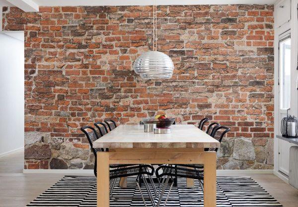 Как сделать в коридоре стену под кирпич самостоятельно декор,для дома и дачи,ремонт