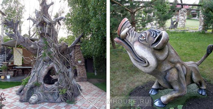 Садовые фигуры из бетона своими руками