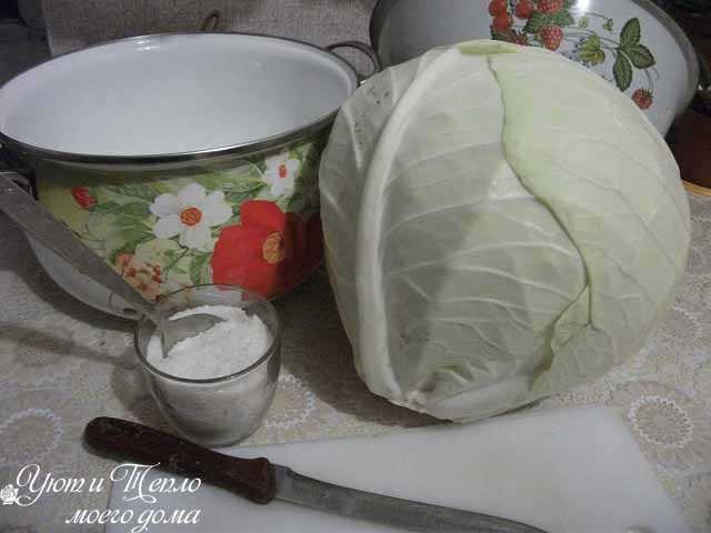 Вкусная квашеная капуста как у бабушки закуски,капуста,квасим и солим