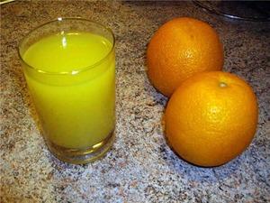 Безалкогольные напитки. Апельсиновый