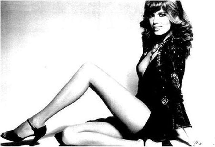Аманда Лир какое-то время работала моделью