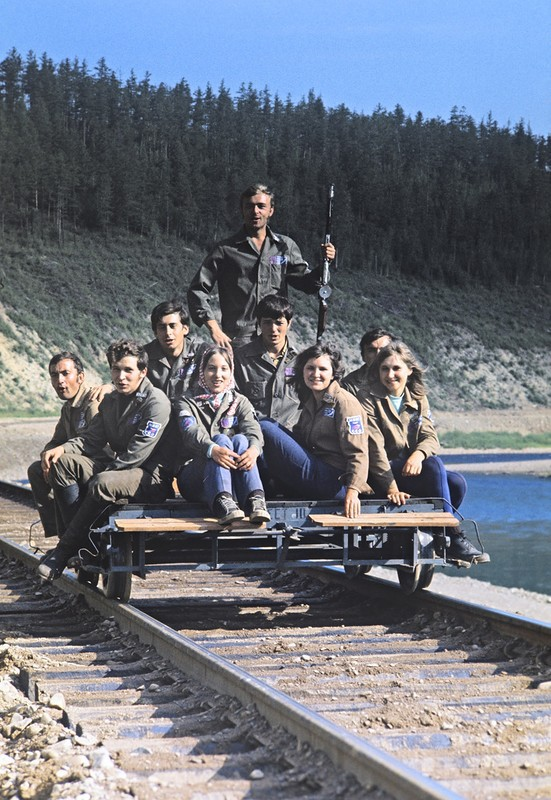 Стройотрядовцы, 1970-е: СССР в фото, подборка