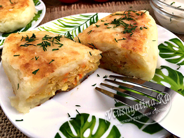 пирожки из картошки