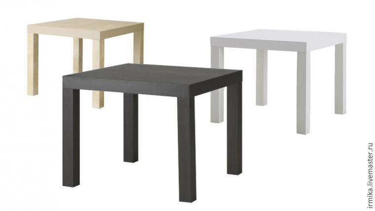 Новый облик столика из IKEA за 2 часа